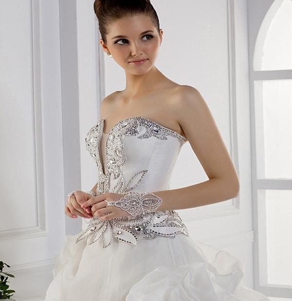 Latest Corset Wedding Dresses