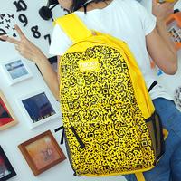Preppy style backpack student school bag travel bag casual backpack