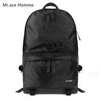 Mr . ace preppy style female backpack middle school students school bag vintage fashion backpack travel bag