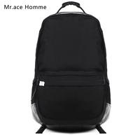 Vintage Casual School Bags Man Black Backpack Women's Shoulder Bags Computer Men's Backpacks