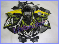 Hayabusa GSX R1300 2008 2009 08 09 fairing ABS Injection Molding +free windscreen
