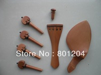 2 Sets of  Jujube Violin Fitting, violin parts and accessory 4/4 size
