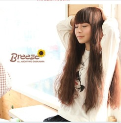 Non-mainstream long curly hair wig the very hot corn Wine red wig fluffy short hair HP95(China (Mainland))