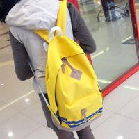 Man bag 2013 women's lovers canvas handbag backpack bag school bag preppy style backpack