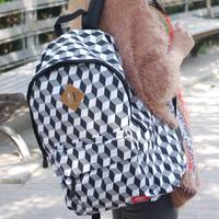 2013 limited edition color block bag backpack man bag women's handbag backpack school bag sports bag