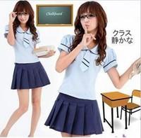 Fairyfair skirt fashion preppystyle student clothing class service performance wear young girl school uniform student set