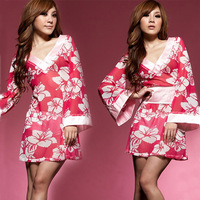 Women's lingerie kimono temptation : sleepwear nightgown lounge Size fits all  wholesale clothing