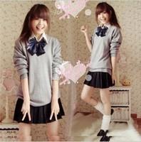 2013 sailor suit school uniform girls student uniform student set fashion class service school wear  wholesale clothing