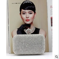 Free Shipping New Style Women's Luxurious Diamond Day Clutches Evening Bags Best Price Top Qulaity NO12050