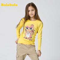 Balabala 2013 spring children's clothing t-shirt child long 100% cotton boy t-shirt