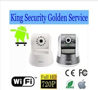 720P Home Surveillance IP Camera Wifi Wireless Vedio camera internet Webcam IR Net Plug & Play camara ip