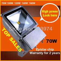 BOPO 85-265V 70W Epistar Landscape Lighting IP65 LED FloodLight LED street Lamp outdoor