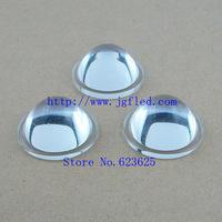10pcs   high quality  30 MM(Height 14.5 MM) optical glass lens LED flat convex lens with high light transmittance,