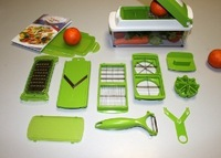 New NICER DICER PLUS12 pieces chopping salad machine multifunctional vegetable slicer chopping device