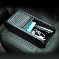 Free shipping car multifunctional storage box car phone storage box