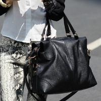 Fashion rivet 2013 motorcycle big bag one shoulder handbag cross-body women's handbag bag