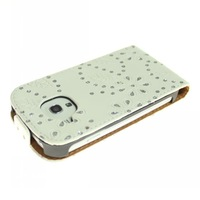 1pcs By CPAM Free Shipping Bling And Vertical Leather Case Cover For Samsung S3 SIII Mini /I8190 Diamond Case
