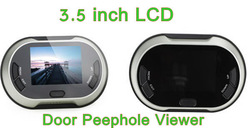 Hotselling 3.5''LCD Digital Video Door Eye Peephole Viewer Camera With Doorbell and Taking Photo Function(China (Mainland))