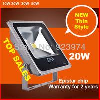 Free shipping  BOPO 2013 New Ultra-thin LED floodlight integration 85~265V Warm white aluminum 20W Water proof IP65 Flood light