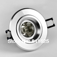 Free Shipping 85-265V 3W RGB LED Ceiling Light 3W RGB LED Spot light 16 Colors RGB + Remote Control