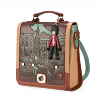 2012 spring vintage backpack bag student bags fashion personality bag women's handbag