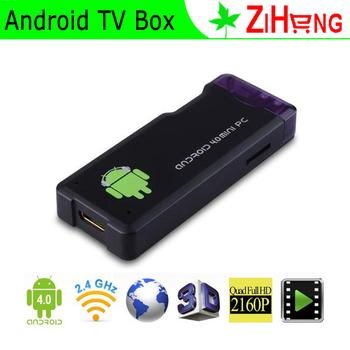 Celebration! MK802 II Android 4.0.4 Mini PC Wifi TV BOX Wi-Fi Google Internet TV Smart Android Box wireless TV player 1GB 4GB