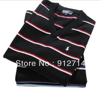 2014 Hot new free shipping  wool sweaters fashion product launches striped sweater/cardigan sweaters modern men