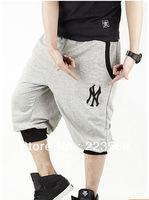 Free Shipping 2013 New Discount Brand Men Casual NY Sports Fashion Shorts M-XXXL