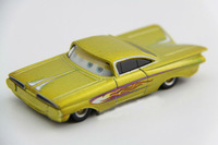 Free shipping Pixar Cars 2 Radiator Springs Classics Yellow Diecast Car Toy New