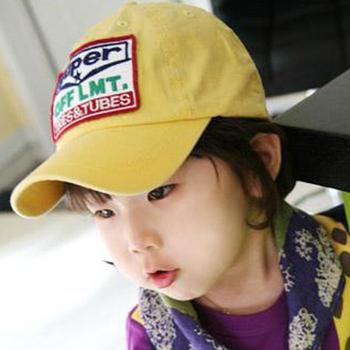 Hat female summer super letter baseball cap hat baby embroidered logo cap