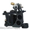 Black Shader Tattoo Machine Gun 10 Wrap Coils Handmade Tattoo machine New