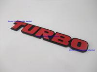 Luxury Aluminium Metal Car Logo Emblem Badge Turbo for All cars