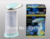 Free shipping SOAP MAGIC the hand soap Soap Automatic  free sensor Soap Soap Dispenser  30pcs/lot