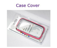 100 PCS/Lot New TPU Bumper Frame Side Case Cover For Samsung Galaxy S3 SIII 3 i9300 6 Colors Free Shipping