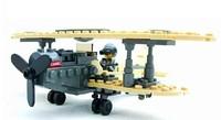 No original box Enlighten Child F1 Fighter 82001 KAZI military brick,building block sets,toy blocks plastic educational building