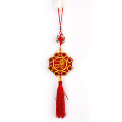 Car hangings car hanging cross stitch chinese knot of finished products car pendant(China (Mainland))