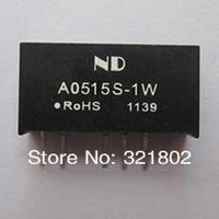 Special Promotional~ 25pcs A0515S-1W 5v input 15v output dc dc converter Dual Output SIP package Free shipping