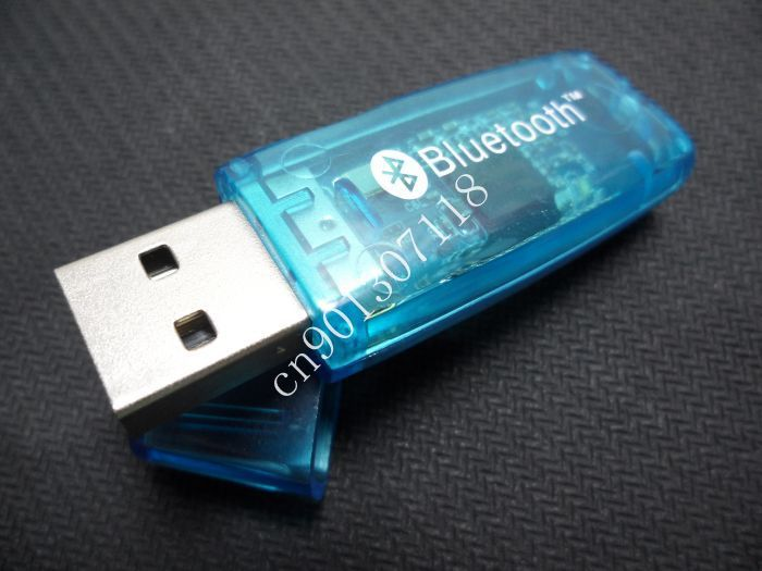 Holiday Sale! Wholesale 50Pcs/Lot 2.4GHz Bluetooth USB 2.0 Dongle Wireless Adapter PC Laptop EDR 100M Free Shipping(China (Mainland))