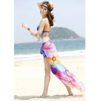 Hot Selling  Chiffon Veil bikini beach  Towel Sarong Beach Cover H0793 P