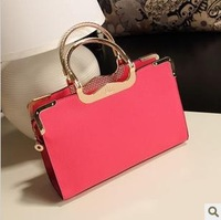 Free shipping 2013 New  fashion handbag messenger bag casual all-match elegant women's briefcase  B4988