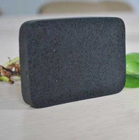 New Bamboo charcoal Face Cleansing Sponges Washing face Sponge Deep Cleaning Bath Charcoal Sponge facial clean Sponge Free Ship