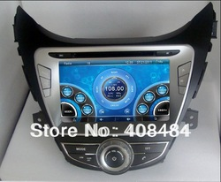 8&quot; 2DIN Car DVD player with GPS for HYUNDAI ELANTRA/AVANTE/MD/i35 2011 for retail/pcs+free shipping!(China (Mainland))
