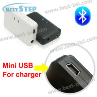3.5mm Wireless stereo audio bluetooth receiver dongle adapter for car aux, portable speaker, earphone, TV Etc