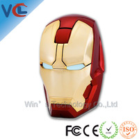 2013 the latest hot iron man other 2.4G Wireless Mouse Mini connector free shipping