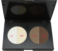 Double Color Grooming Powder Compact Highlights/Shadow/Thin Face