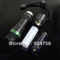 1800 Lumen Zoomable CREE XM-L T6 LED 18650 Flashlight Torch Zoom Lamp Light