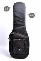 Soldier double-shoulder thick swizzler electric guitar bag black