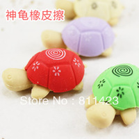 Small tortoise eraser turtle rubber 0.5 2 prize korea stationery