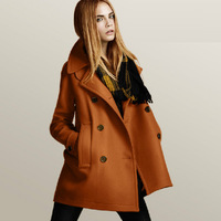 Free Shipping 2012 Newest Women's Coat ,Wool Coat For Women / major suit Winter Fashion Coat ED-256