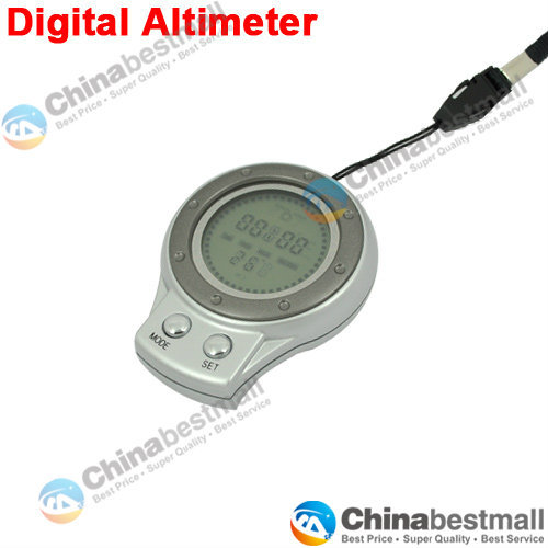 6 in 1 Multifunctional Digital Altimeter with Barometer Thermometer Compass Weather Forecast Time(China (Mainland))